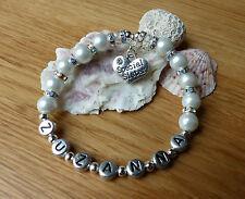 Hermana especial regalo, mayor regalo Pulsera personalizada o collar & caja