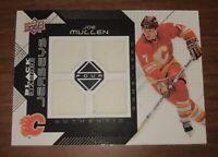 2008-09 Upper Deck Black Diamond Hockey Joe Mullen Memorabilia Card