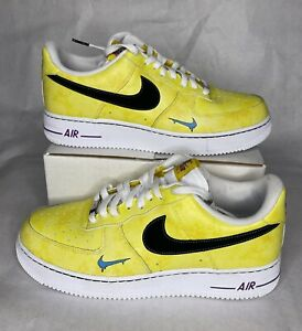 Men's Nike Air Force 1 Low Peace Love Basketball DC1416-700 Size 10.5