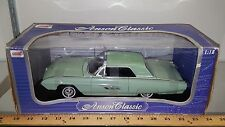 1/18 ANSON CLASSIC 1963 FORD THUNDERBIRD SUPERSPORT COUPE PALE GREEN gd