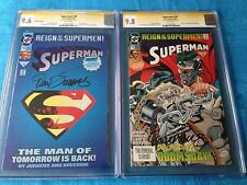 Superman #78 Collectors & Regular set - DC - CGC SS 9.6 9.8 - Signed by Jurgens