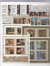 Francobolli - Stamps - Burundi - 14 Francobolli - 4 blocchi  - Nuovi (**MNH)