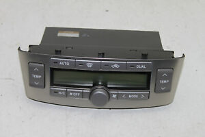 #11969 Toyota Avensis T25 2005 LHD A/C Heater Climate Control 55900-05200