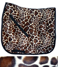 "Quality Unique ""Giraffe Dressage Saddle Pad Animal Print"
