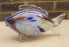 PESCE vetro colorato art