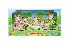 Sylvanian Families Calico Critters Limited Edition Chocolate Rabbit Family