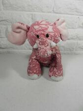 Webkinz Batik Elephant Pink Ganz Stuffed Animal No Code Tag
