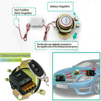 12V 100A Car Auto Remote Control Battery Switch Disconnect Power Master Kill