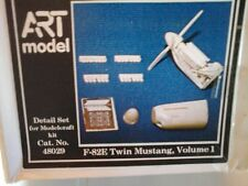 F82E TWIN MUSTANG 1/48 RESIN PARTS+PHOTOETCHED DETAIL SET VOLUME 1-ART MODEL