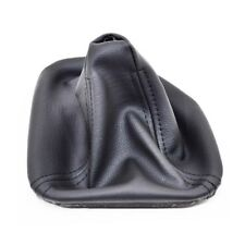GEAR STICK SHIFT GAITER BOOT BLACK LEATHER FOR BMW 5 SERIES E39 1995-2003 P10
