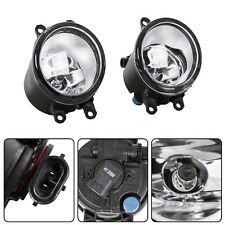 Set For Toyota Camry Corolla Tacoma RAV4 Yaris Clear Fog Light Driving Lamp