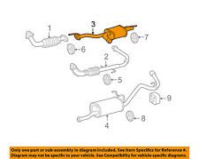 TOYOTA OEM 2004 Tundra 4.7L-V8 Exhaust-Center Pipe 174030F050