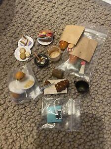 lot of dollhouse miniature food. scale 1:12