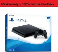 🔥NEW Sony PlayStation PS4 1TB Slim Gaming Console Black CUH-2215B FedEx 2-DAY🔥