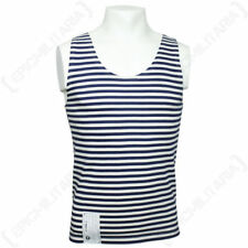 0efc518cd498a Striped Sleeveless 100% Cotton T-Shirts for Men