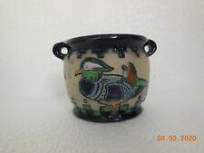 Amphora Pottery ~ Austria ~ Campina ~ Duck Design Vase