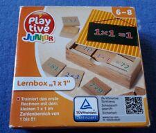 wie neu Lernspielzeug Holz rechnen lernen 1x1 Mathe Grundschule Schulanfang