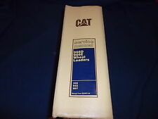 CAT CATERPILLAR 966D 966E WHEEL LOADER SERVICE MANUAL S/N 35S 94X 99Y
