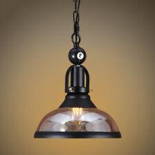 "Vintage Pendant Home Glass Lamp Kitchen Billiard Lighting Bowl Ceiling Light 10"""