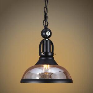 Vintage Pendant Home Glass Lamp Kitchen Lighting Bar Loft Playroom Ceiling Light