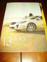 2013 BUICK REGAL ***ORIGINAL DEALER SALES BROCHURE***
