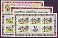 V5299 Ghana/ Olympia 1984-fussball Minr Block 109 ** Briefmarken