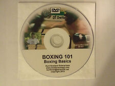 """BOXING 101 & 102, 2 Disk Video set, Learn to Box, Good For Boxing or MMA"