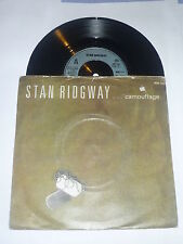 STAN RIDGWAY - Camouflage - 1986 UK Blue IRS Label  7""