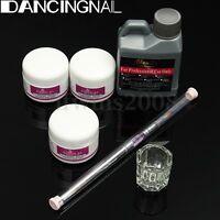 Acrylique Liquide Poudre Ongle Resine Base Pinceau Brosse Manucure Nail Art