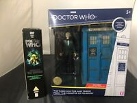 B&M Doctor Who 3rd Dr Third TARDIS Monster Peladon Collector Figure Plus DVD Set