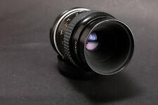 Nikon Micro Nikkor Ai 55mm f2.8 Macro lens w caps Exc+++++