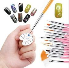 Mini stainless steel  Ring Palette Nail Plate Finger Ring Mixing Color Palette
