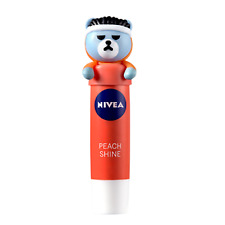 NIVEA X KRUNK Lip Balm Moisturizer Care 4.8g YG Ikon PEACH LIP CARE