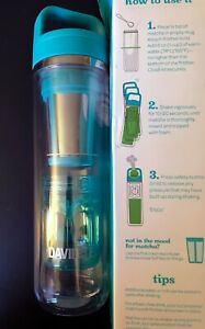 Open Box David's Tea The Matcha Maker 14 Oz Travel Mug with Frother & Infuser