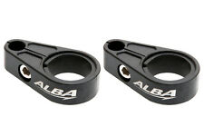 Can Am DS 450 DS 650   Brake Line Clamps  black  BLC 002 B
