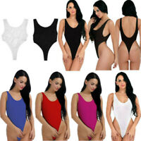 Swimwear Beachwear Bikini Sheer Lingerie Leotard Bodysuit Thong Women Lady New