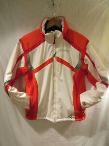 SPYDER XT.L 10,000 White Red Ski Snowboarding Jacket Kid's Size 16