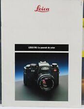 LEICA R6 Brochure / Dépliant 1988 26 pages /  photo