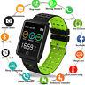 Wasserdicht Smartwatch Sports Uhr Pulsuhr Blutdruck Fitness Tracker Armband IP68