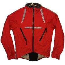 Men's Nike Red 3M Reflective Storm Fit Water/Wind Cycling Shell Jacket Medium