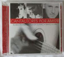 CANTAUTORES POR AMOR CD - RICARDO MONTANER - AMAURY GUTIERREZ - FRANCO DE VITA