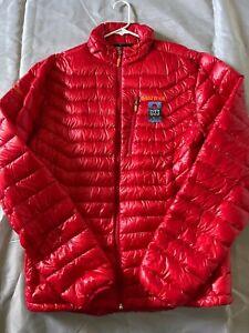 Men's Marmot Down Jacket - Red - Size L - 023
