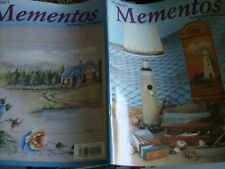 Mickey's Mementos Painting Book Gorgeous Sceneries -Seascapes Lighthouse Florals