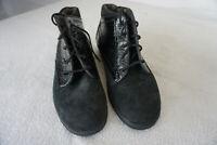 Finn Comfort Sofia Winter Schuhe Stifel Boots gefüttert Gr.40,5 Nubuk Leder NEU