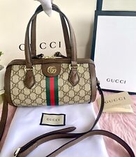 GUCCI OPHIDIA BARREL SHOULDER SLING HANDBAG
