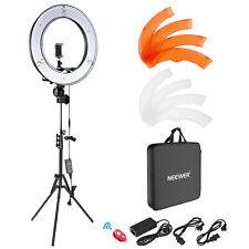 "Neewer 18"" 55w Camera Smartphone Photo Video Lightning Kit with Light Stand"