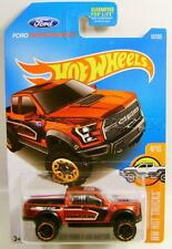 2017 '17 FORD F150 RAPTOR PICKUP TRUCK FORD PERFORMANCE HOT WHEELS DIECAST 2017
