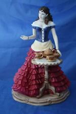 More details for royal worcester  very rare teatime at the st. leger doncaster figurine