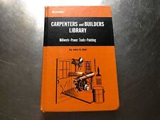 CARPENTERS and BUILDERS LIBRARY 1976 hardcover by John E. Ball #1212B