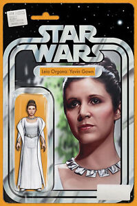 Star Wars # 58 NM Leia Organa Yavin Gown JTC Action Figure Variant IN HAND NOW!